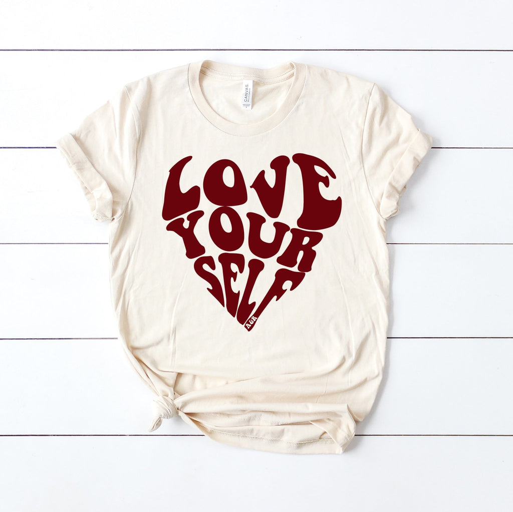 Love Yourself Tee - Alley & Rae Apparel