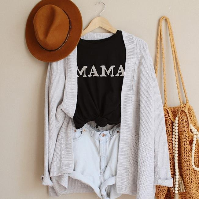 Mama Tee Shirt - Alley & Rae Apparel