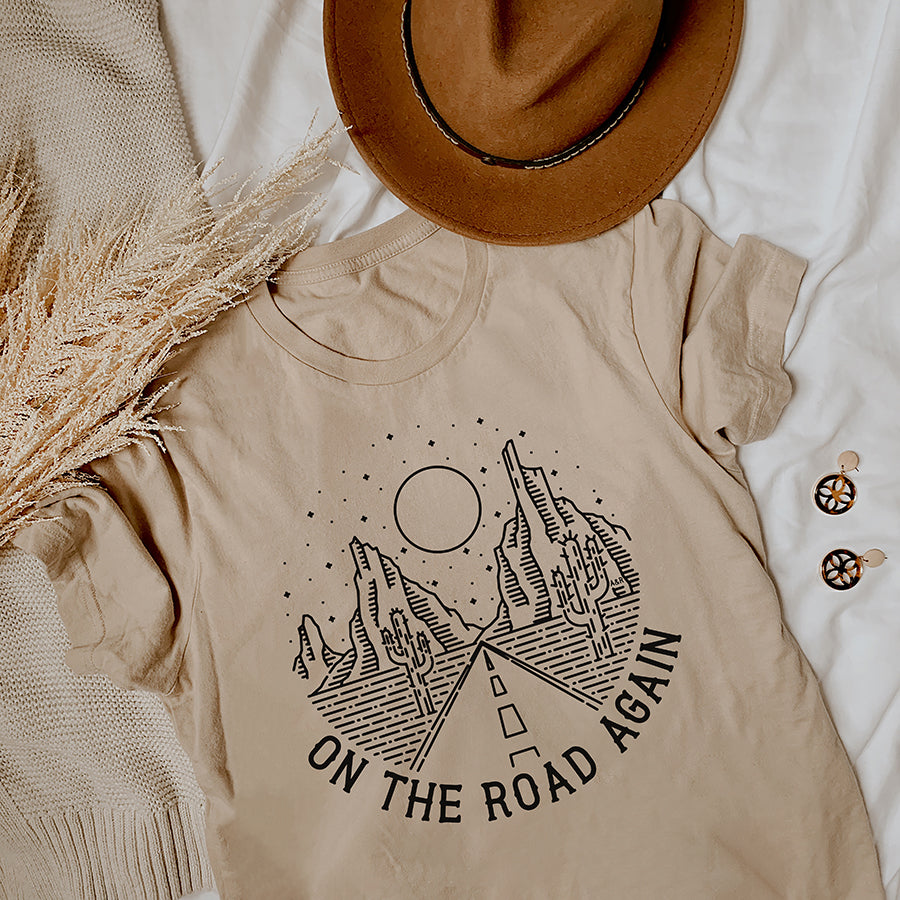 On The Road Again Tee Shirt