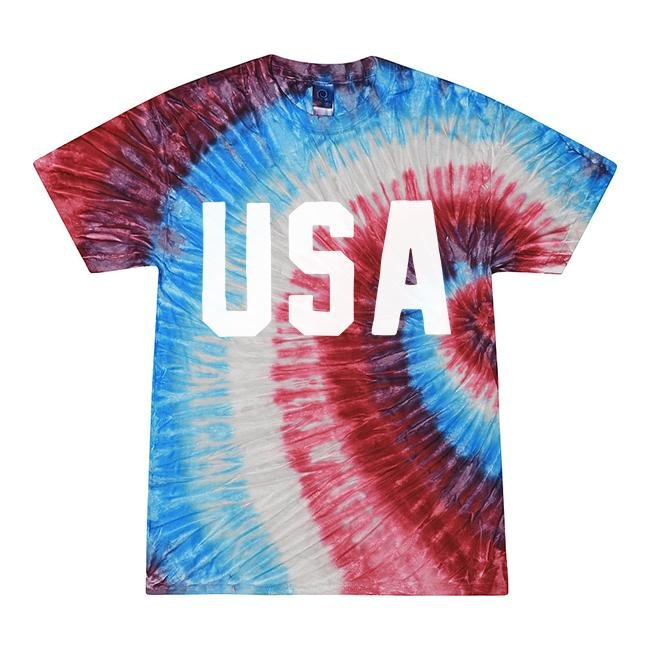 USA Tie Dye Tee Shirt - Alley & Rae Apparel