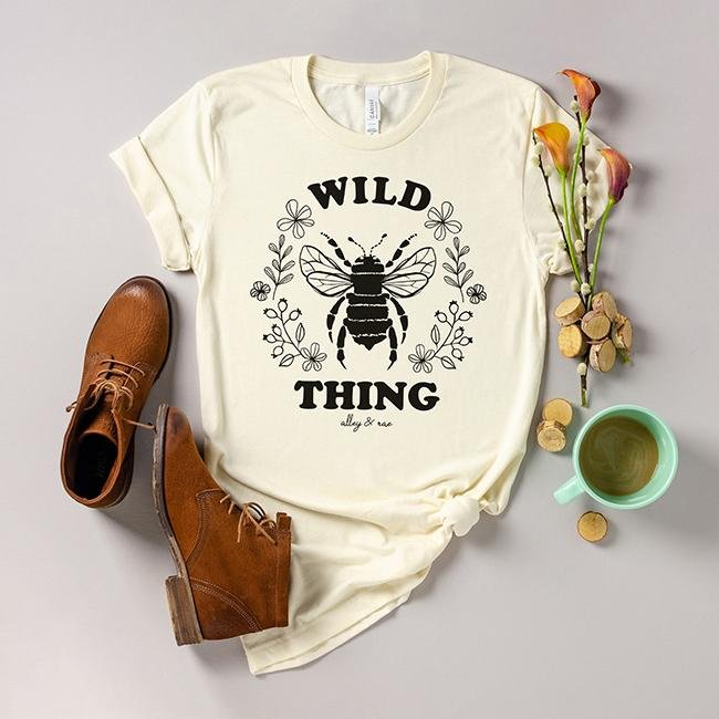 Wild Thing Tee - RTS - Alley & Rae Apparel