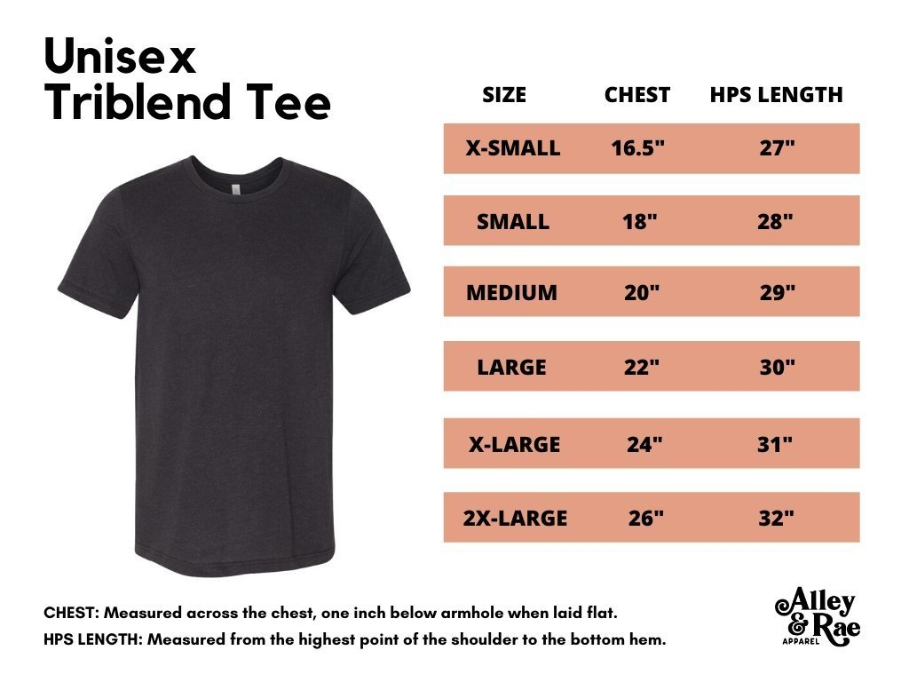 Zero Fox Given Triblend Tee - Alley & Rae Apparel