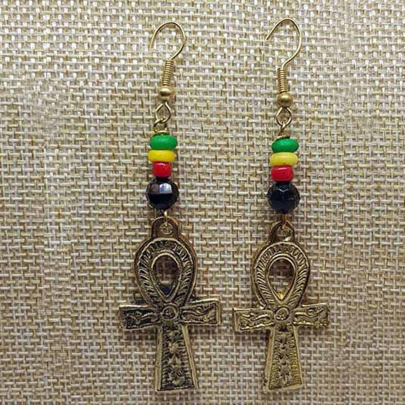 Ankh Earrings - Mocrafts