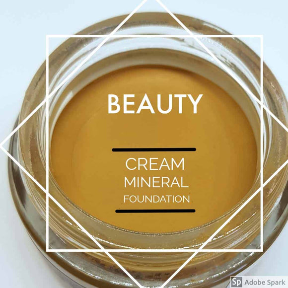 Cream Mineral Foundation