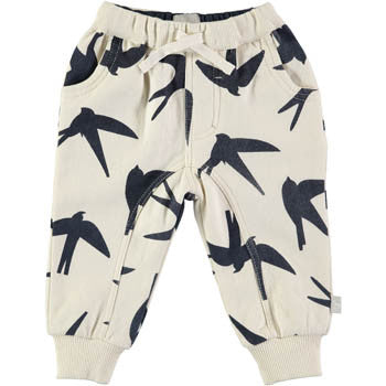 Swallow Printed Comfy Pant - BebeThreads - 1