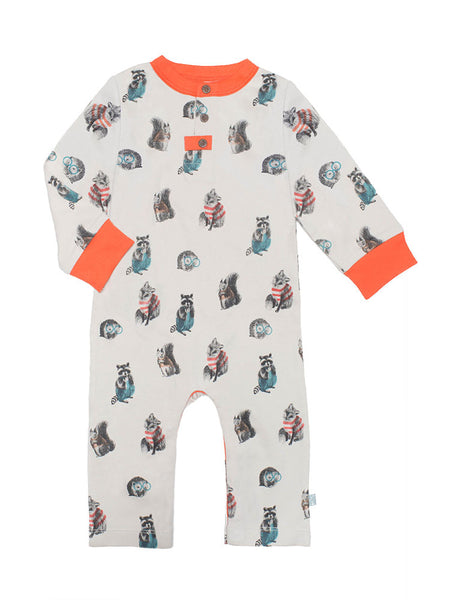 Finn + Emma Woodland Coverall - BebeThreads - 1