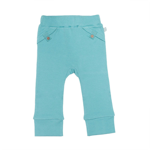 Finn + Emma Dusty Turq Trousers - BebeThreads - 1