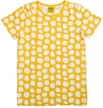 Yellow dot tee - BebeThreads