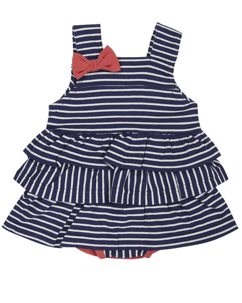 Nautical Frill Sunny Suit - BebeThreads - 1