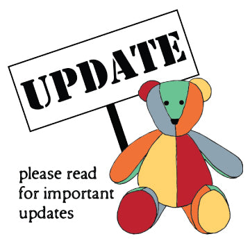 COVID-19 Update from The Patchwork Bear: Updated policies and requests