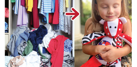 The Patchwork Bear Can Marie Kondo (or Home Edit) Your Closet