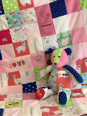 Memory Quilt & Bear by The Patchwork Bear