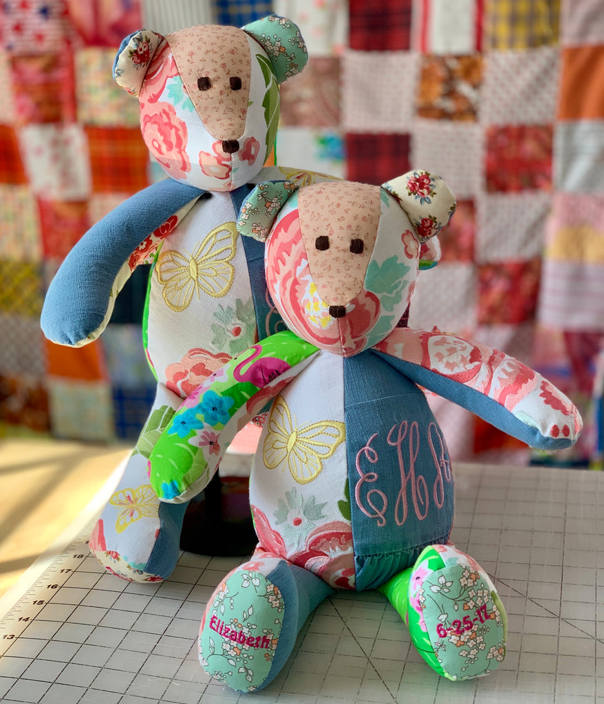 Baby's First Memory Bear, personalized