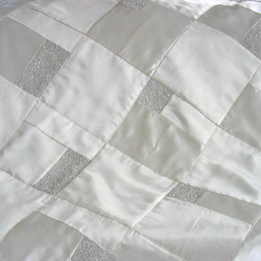 Wedding Dress Quilt, Extra Large 60x60