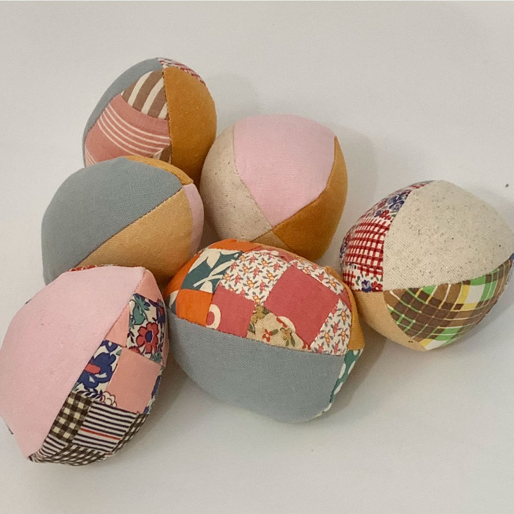 Linen Four Patch Easter Eggs