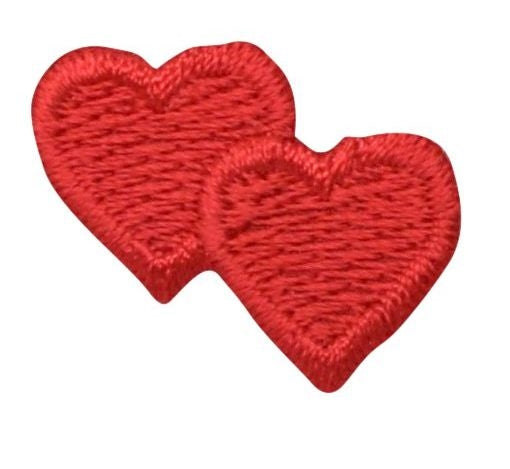 ADD ON: Double Red Heart Applique