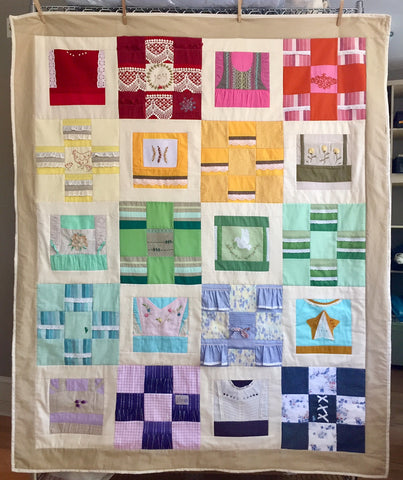 My Favorite Clothes Memory Quilt