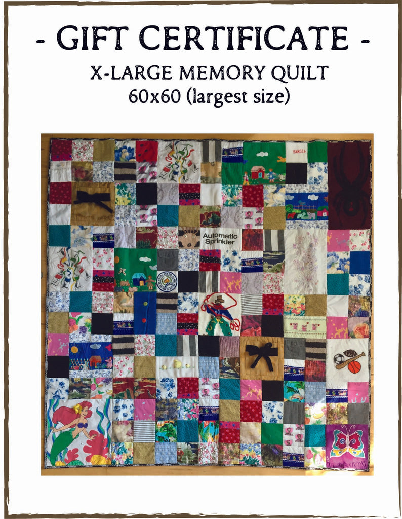 Memory Quilt by The Patchwork Bear