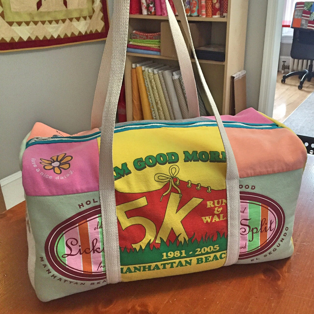 Weekend Duffle Memory Clothes Bag