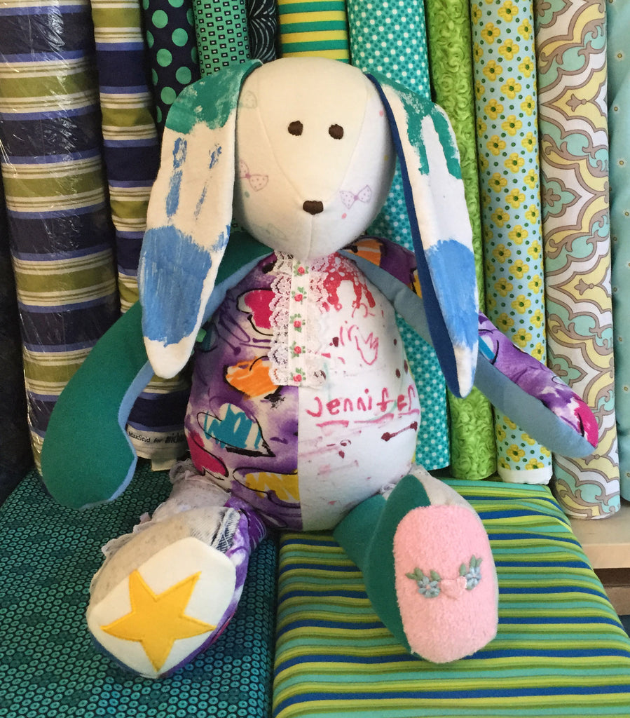 Memory Bunny Gift Kit by The Patchwork Bear