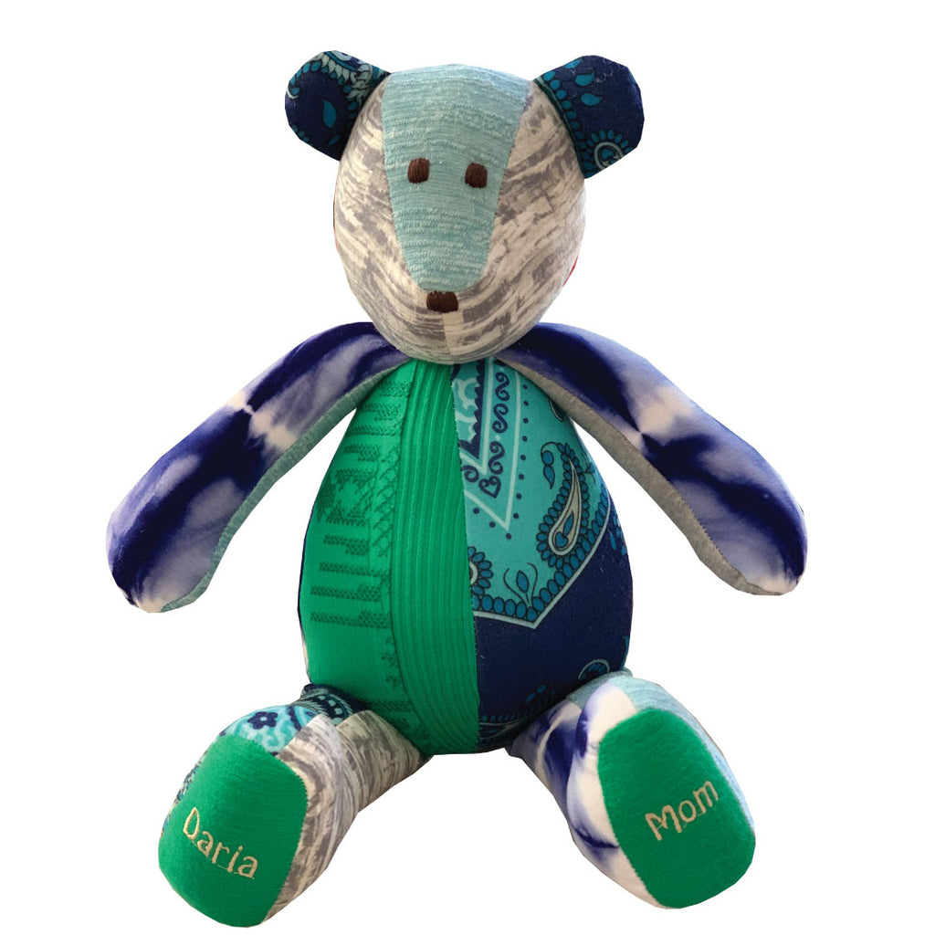 The Original Memory Bear, personalized