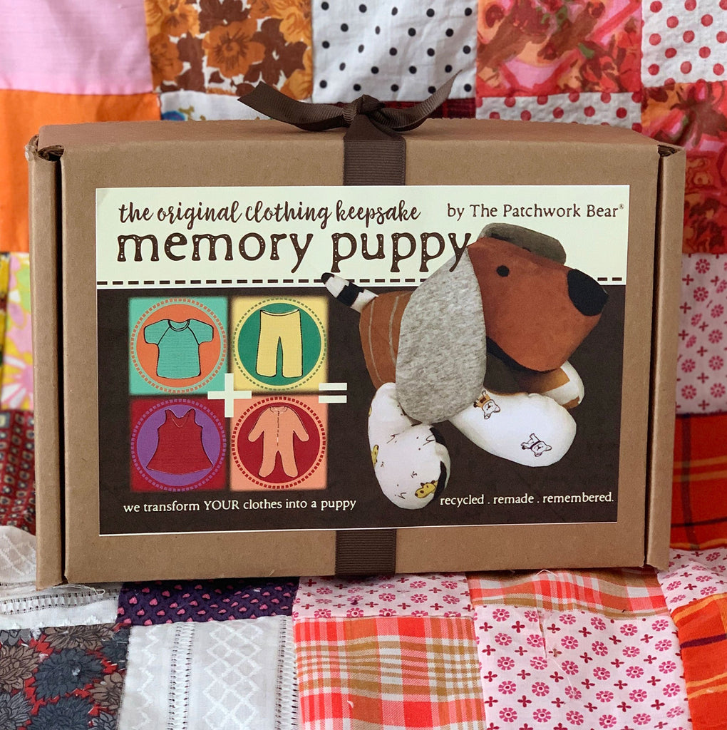 Memory Puppy Gift Kit by The Patchwork Bear