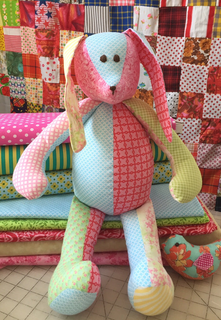 Memory Bunny made from favorite clothes