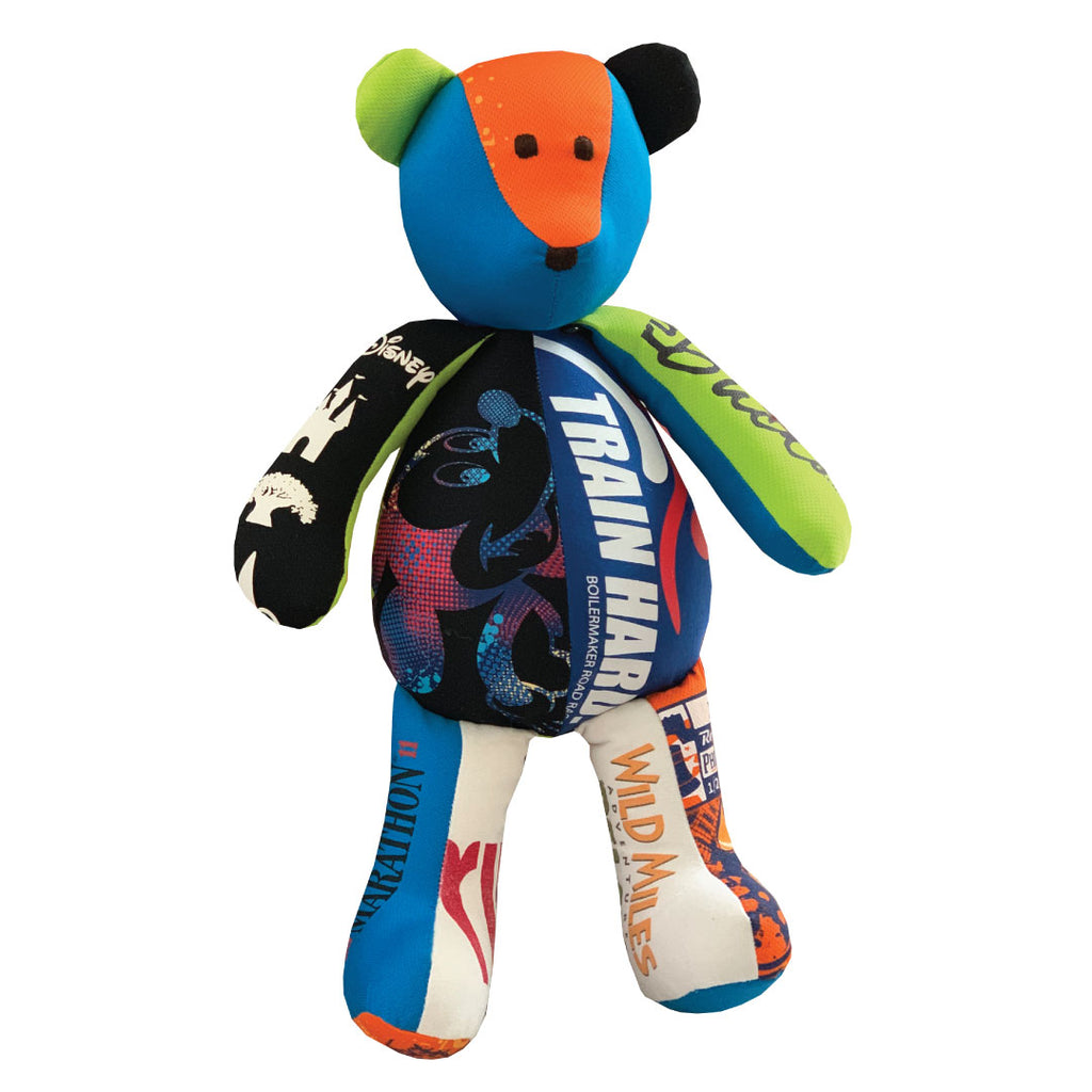 Memory Bear by The Patchwork Bear made entirely from clothing you send to us