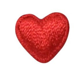 ADD ON: Tiny Red Heart Applique Add-on
