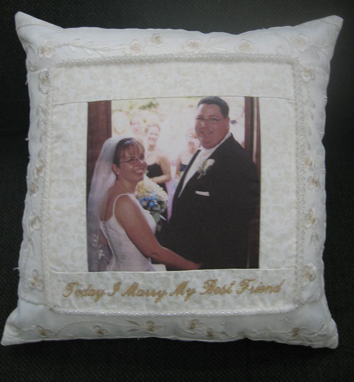 Wedding Dress Pillow