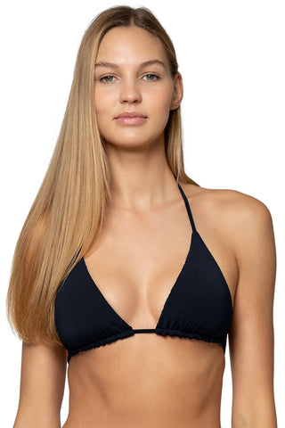 Sunsets Black Starlette Triangle - BestSwimwear