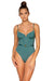 B Swim Dark Sage Jetty One Piece