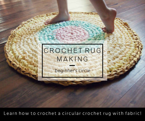 Beautiful Crochet Rug Upcycle Pattern and Tutorial – King Soleil VW84