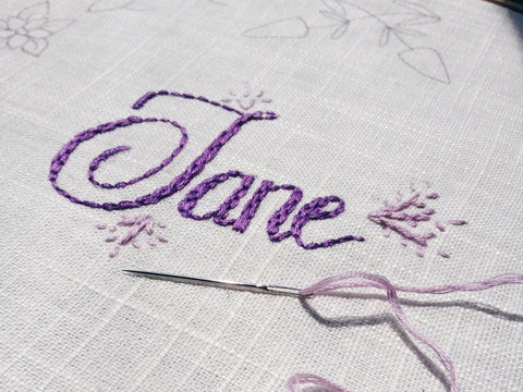 Embroidery For Beginners The Basics King Soleil