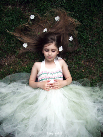 Blossom Flower Girl Dress - King Soleil - 1