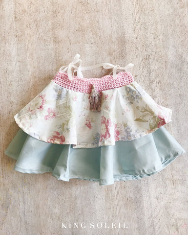 Fox Dress in Seafoam Floral - King Soleil - 1