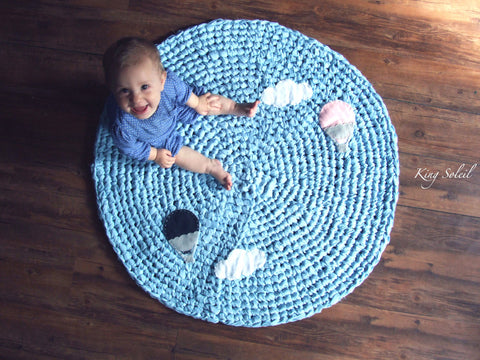 Hot Air Balloon Rug - King Soleil - 1