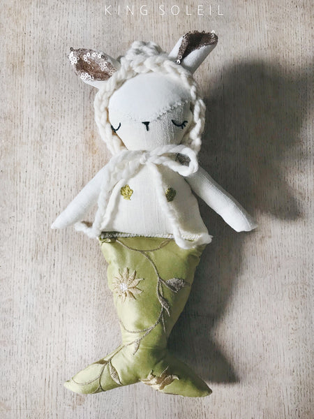 Bunny Mermaid Mama and Baby Set Delphi and Moss