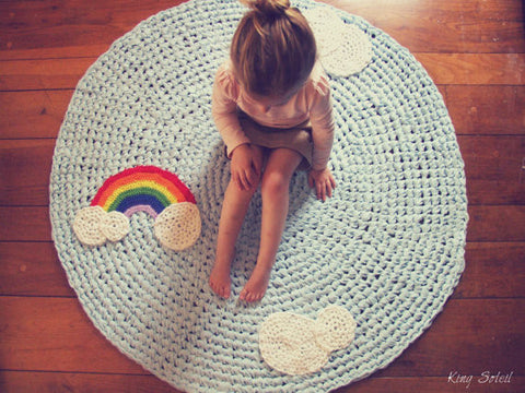 Rainbow Rug in Classic - King Soleil - 1