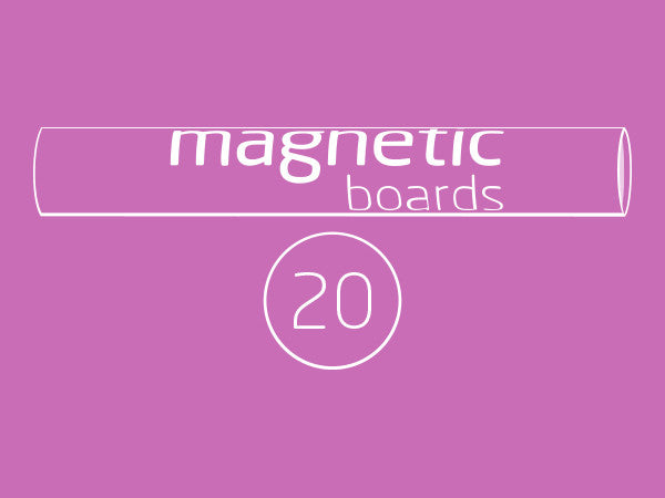 Magnetic BOARDS 20
