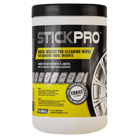 AA StickPro Wheel Cleaner Wipes