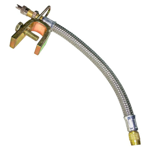 AA Flexible Truck Valve Extension - Braided Steel (Ea)