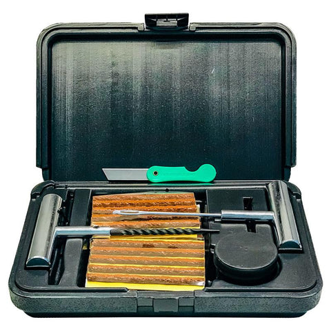 "AA Brown String Tire Repair Insert Kit for 1/4"" Injury"