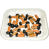 "AA Plug-Em-Gun Orange Plugs For Bias Ply Radial Tires (5/16"")"
