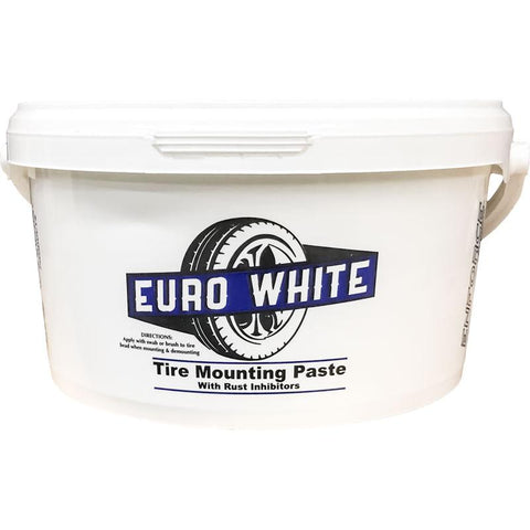 Euro White Tire Mounting Paste (7.7 Lb Bucket)