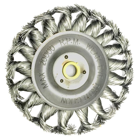 AA Twist Wire Wheel 4 in