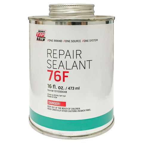 Rema 76F Repair Sealant w/ Brush Cap (16 Oz)