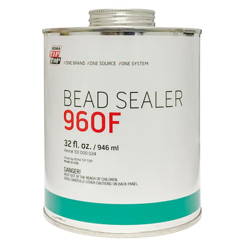 Rema 960F Rim and Bead Sealer w/ Brush Top (32oz)
