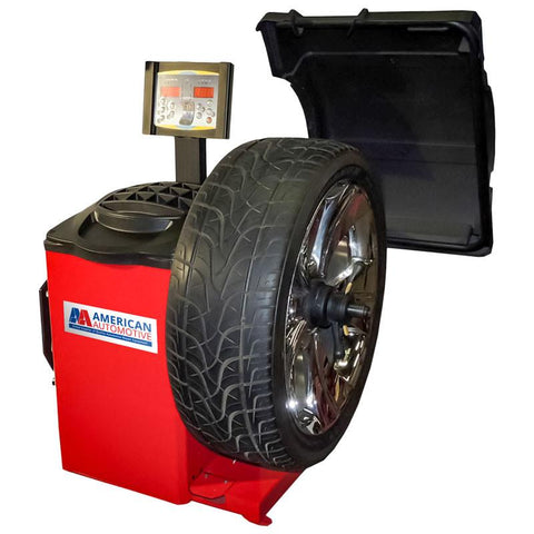 "AA TB-66 Laser Tire / Wheel Balancer - Up To 44"" Tire"
