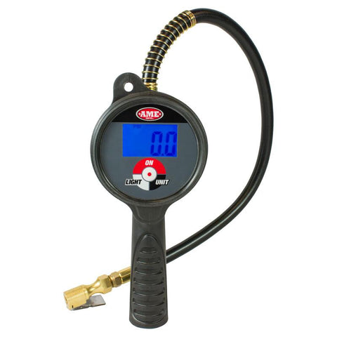 AME 24866 Digital Tire Inflator (174 PSI / Clip-on)